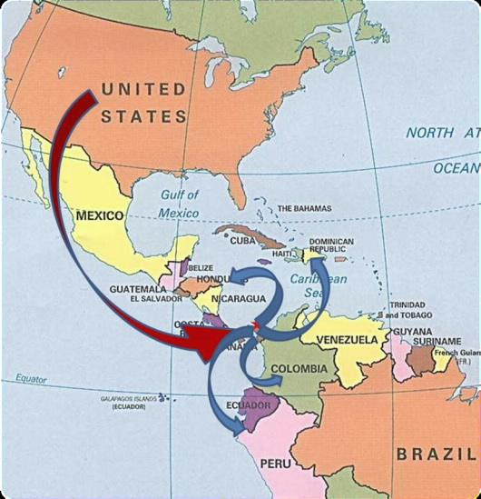 Offshormapg panama outsourcing map gumiabroncs Image collections